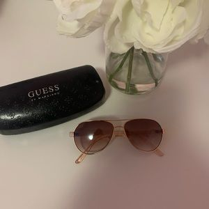 Other - Guess rose gold sparkle kids sunglasses